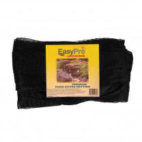 """EasyPro NP2020 Premium Pond Cover Netting 3/4"""", 20' x 20', w/8 Stakes"""