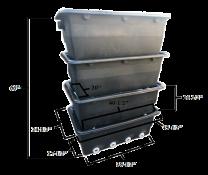 WLim Bakki Shower Large (4 Trays Per Set)