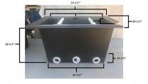 Bakki Shower Small - No Media - 1 Set (4 Trays Per Set)