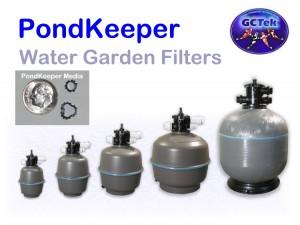 GCTek PondKeeper Water Garden Filters